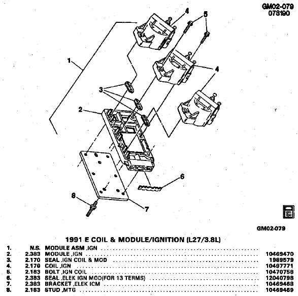 buick ignition coil wiring diagram wiring schematic diagram Buick Ignition Coil Wiring Diagram i have a 1988 buick park avenue and i